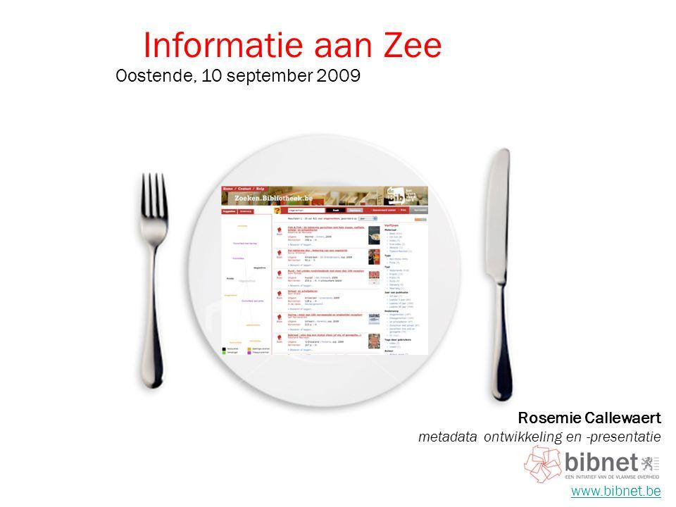 Informatie aan Zee Oostende, 10 september 2009