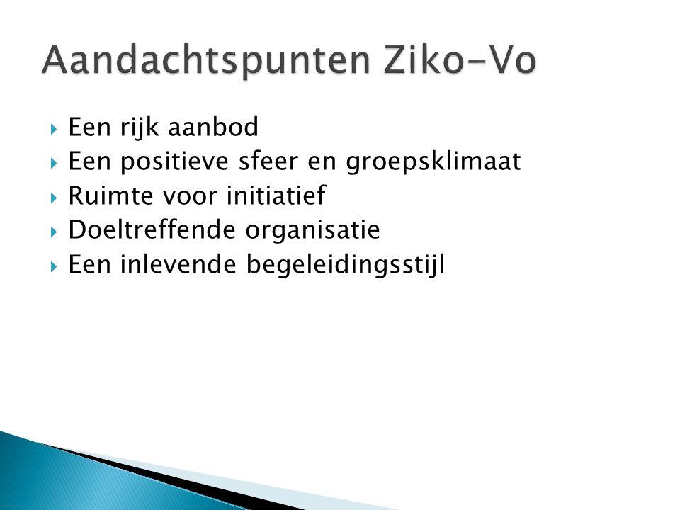 Aandachtspunten Ziko-Vo