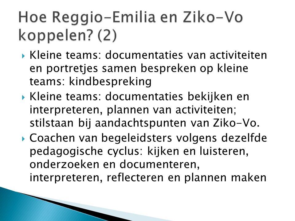 Hoe Reggio-Emilia en Ziko-Vo koppelen (2)