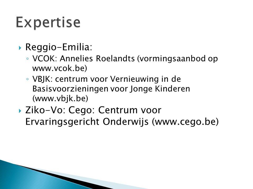 Expertise Reggio-Emilia: