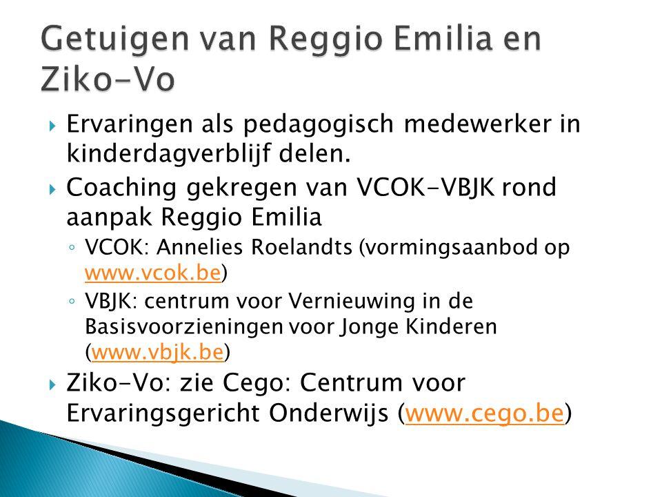 Getuigen van Reggio Emilia en Ziko-Vo