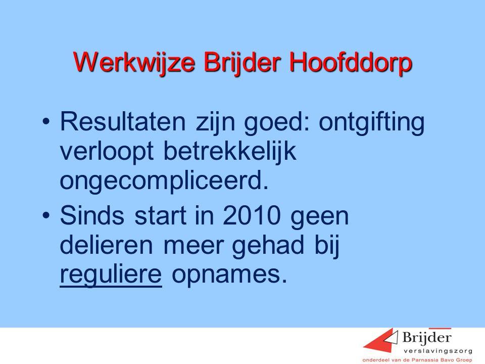 Werkwijze Brijder Hoofddorp
