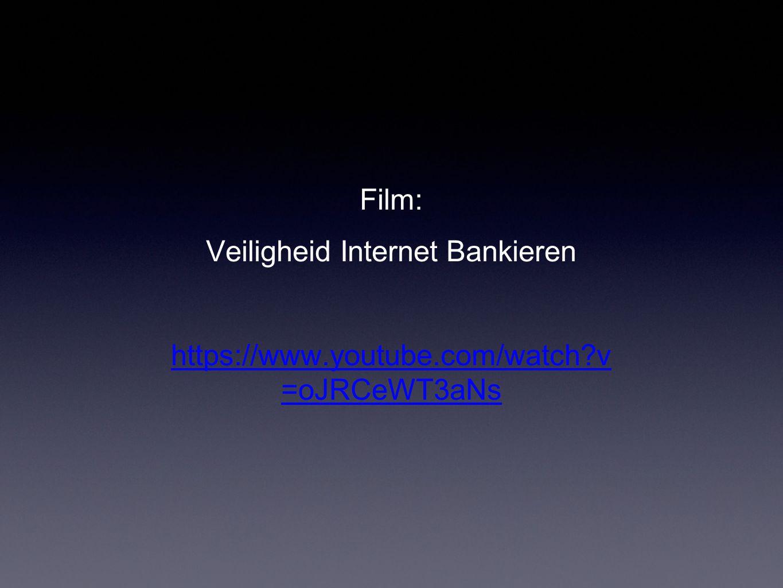 Veiligheid Internet Bankieren