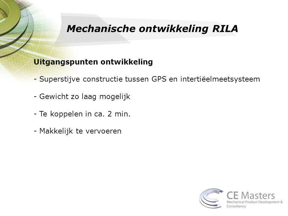 Mechanische ontwikkeling RILA