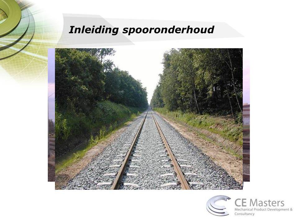 Inleiding spooronderhoud