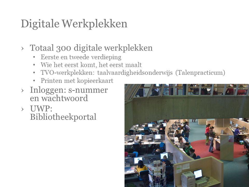 Digitale Werkplekken Totaal 300 digitale werkplekken