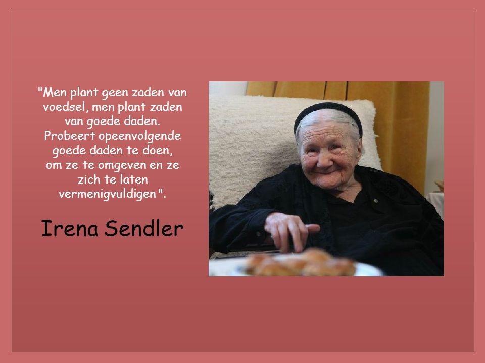 Men plant geen zaden van voedsel, men plant zaden van goede daden.