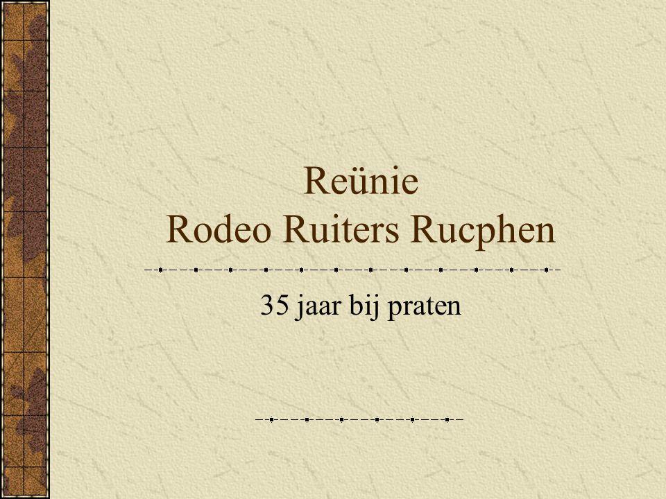 Reünie Rodeo Ruiters Rucphen