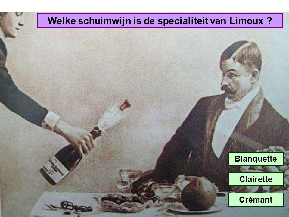 Welke schuimwijn is de specialiteit van Limoux