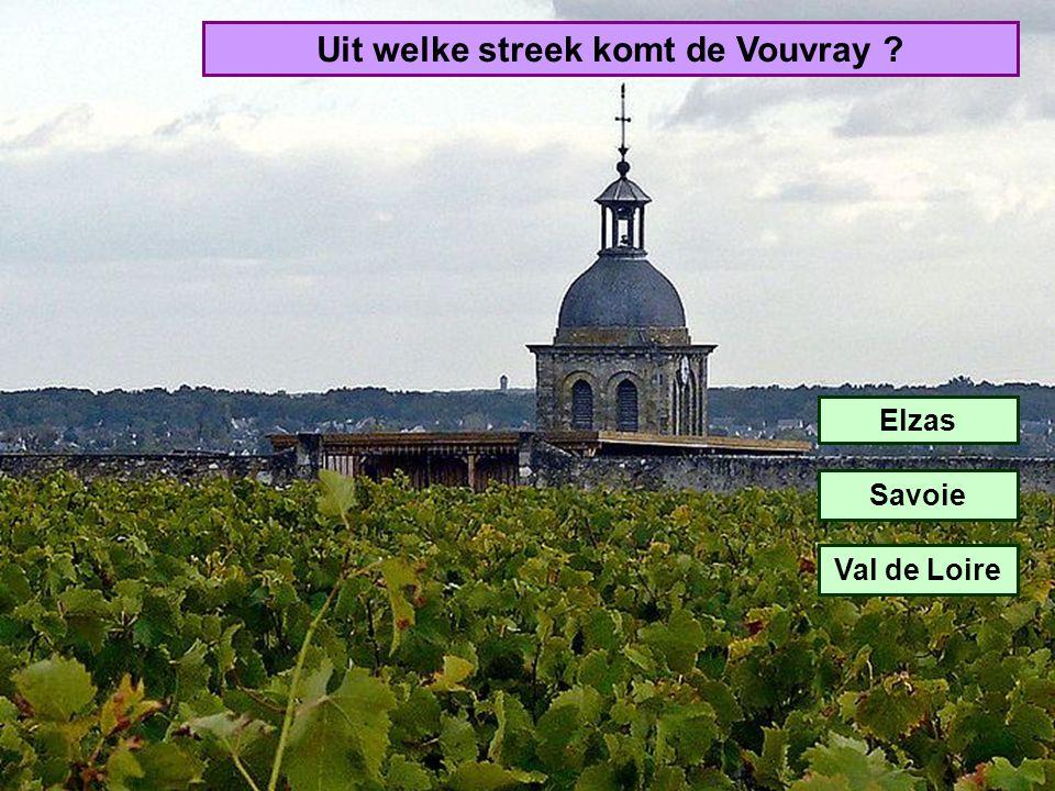 Uit welke streek komt de Vouvray