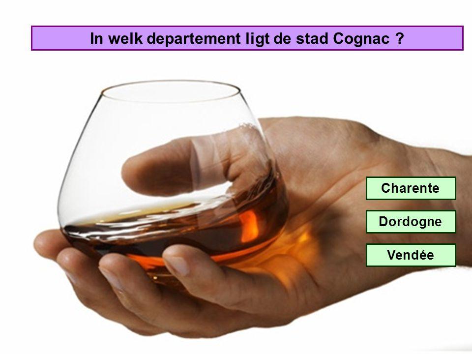 In welk departement ligt de stad Cognac