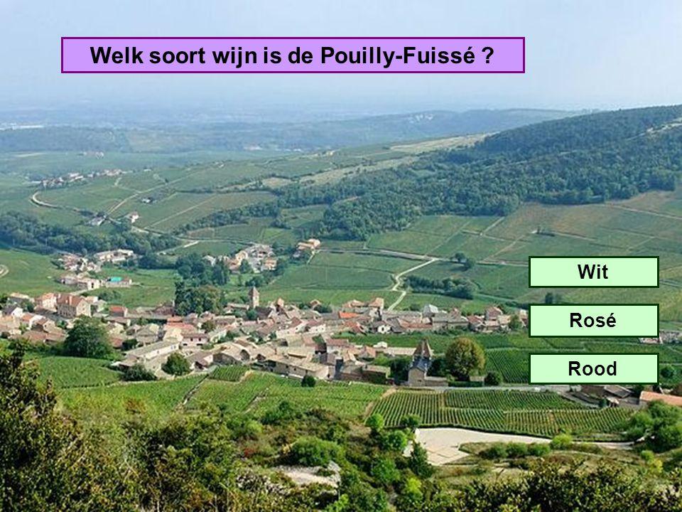 Welk soort wijn is de Pouilly-Fuissé