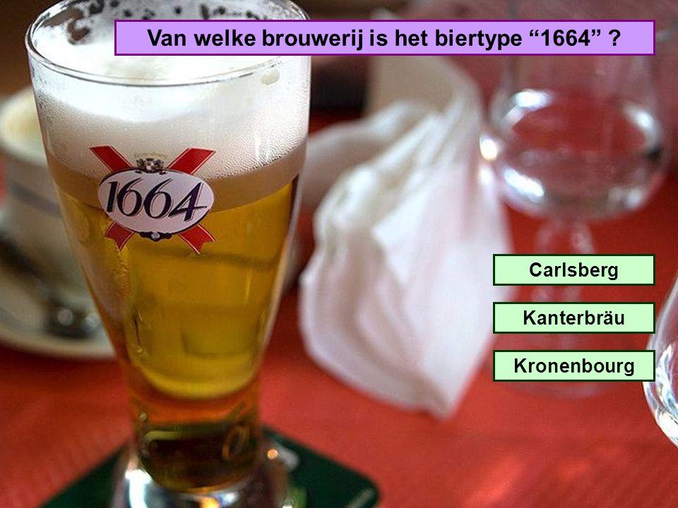 Van welke brouwerij is het biertype 1664