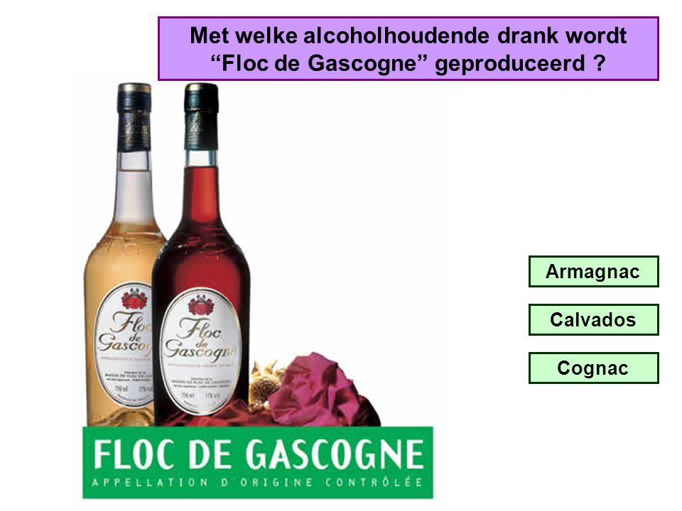 Met welke alcoholhoudende drank wordt Floc de Gascogne geproduceerd