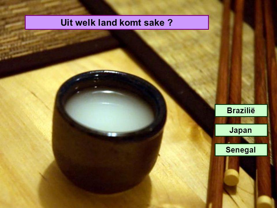 Uit welk land komt sake Brazilië Japan Senegal