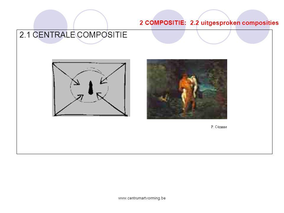 2.1 CENTRALE COMPOSITIE 2 COMPOSITIE: 2.2 uitgesproken composities