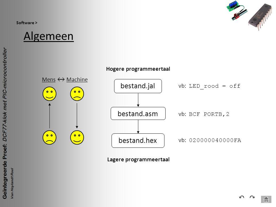 Lagere programmeertaal Hogere programmeertaal