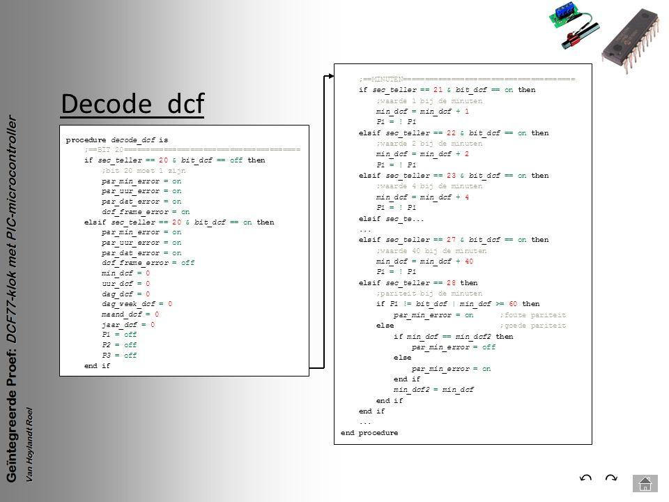 Decode_dcf ⃔ ⃕ ;==MINUTEN=======================================