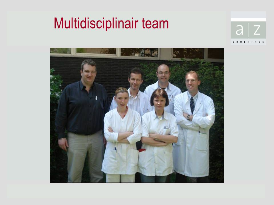 Multidisciplinair team