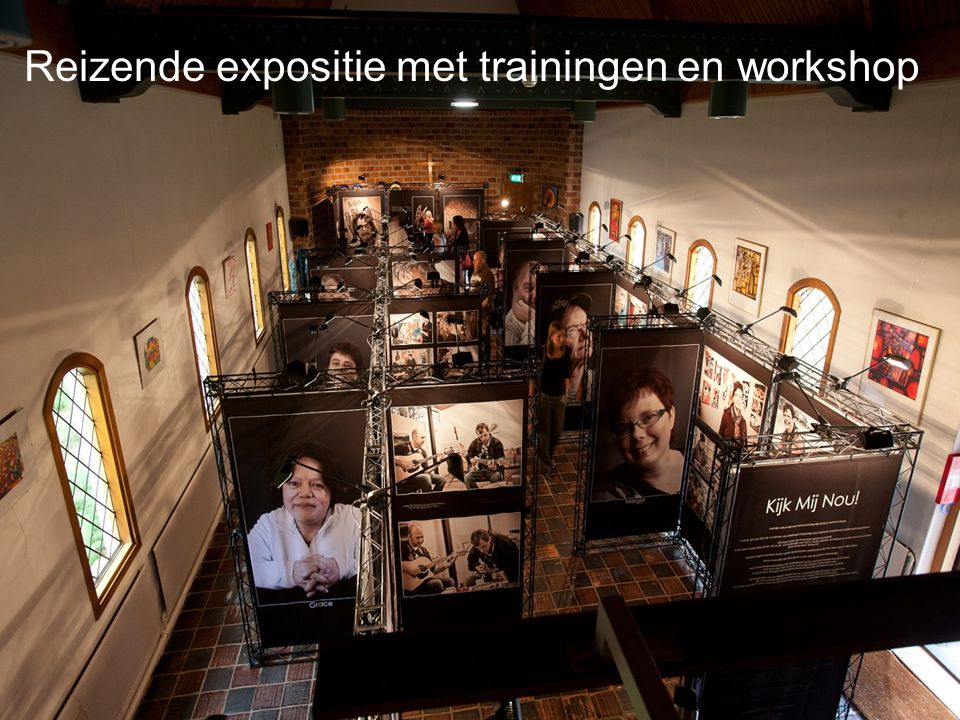 Reizende expositie met trainingen en workshop