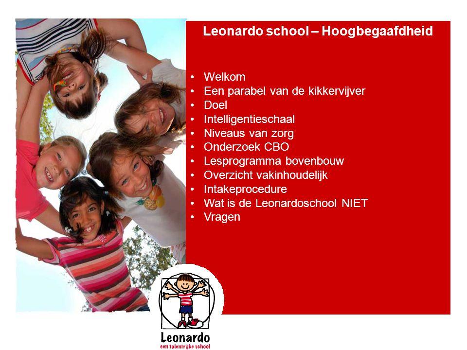 Leonardo school – Hoogbegaafdheid