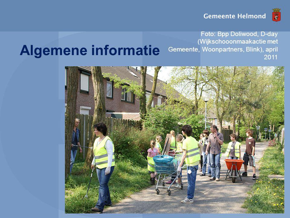 Foto: Bpp Doliwood, D-day (Wijkschooonmaakactie met Gemeente, Woonpartners, Blink), april 2011