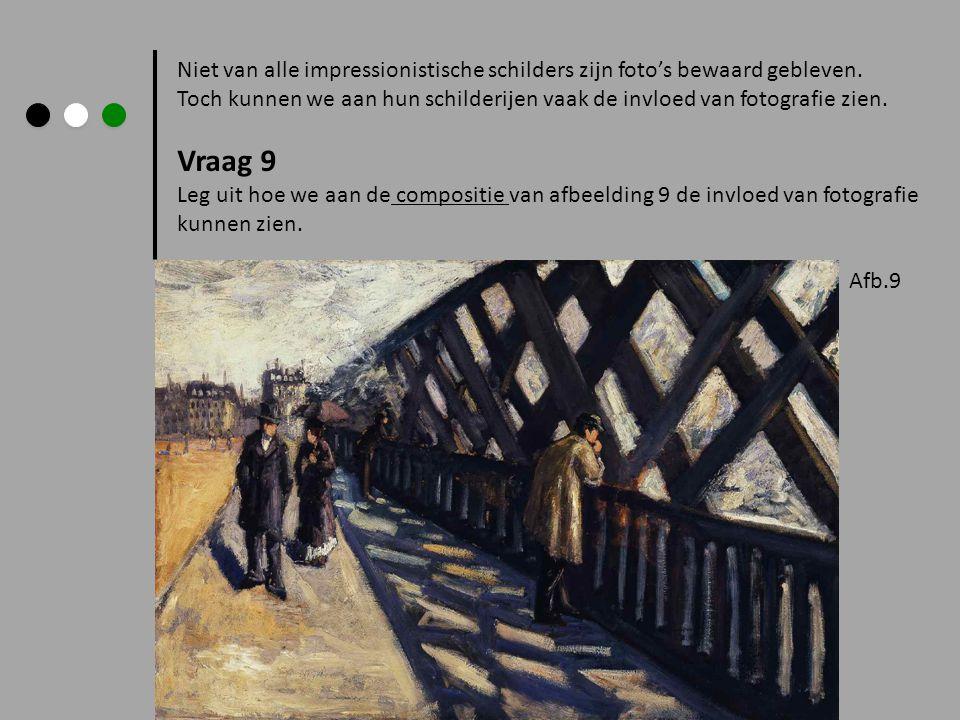 Niet van alle impressionistische schilders zijn foto's bewaard gebleven.