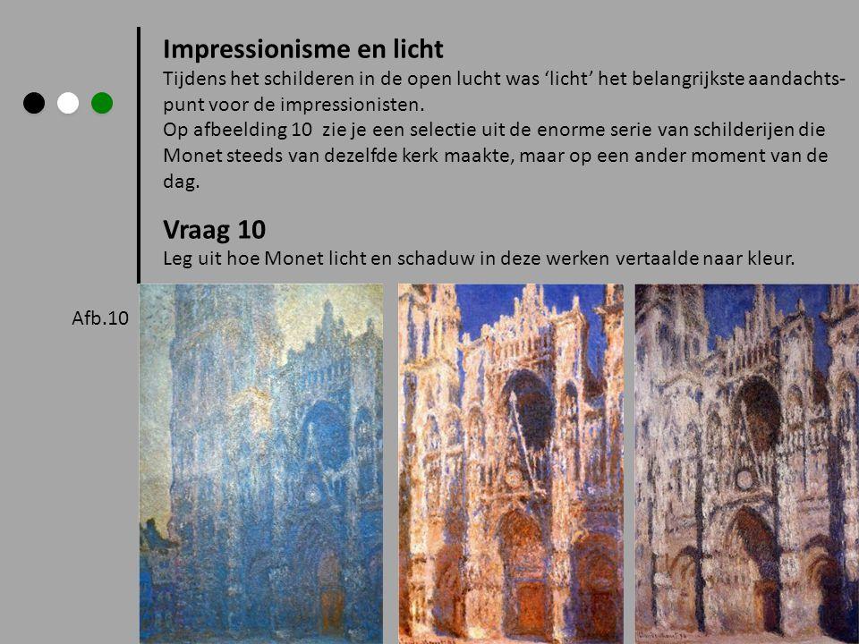 Impressionisme en licht