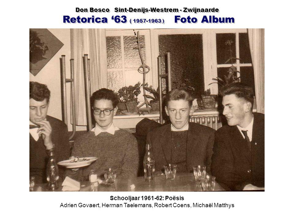 Adrien Govaert, Herman Taelemans, Robert Coens, Michaël Matthys