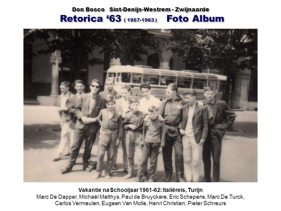 Vakantie na Schooljaar 1961-62: Italiëreis, Turijn