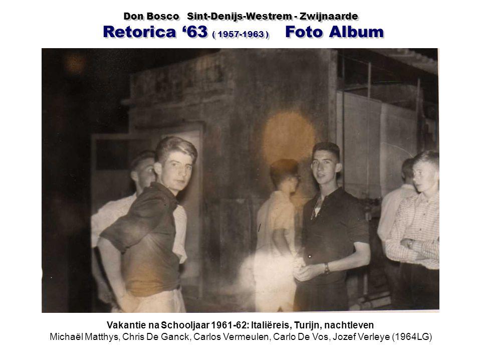Vakantie na Schooljaar 1961-62: Italiëreis, Turijn, nachtleven