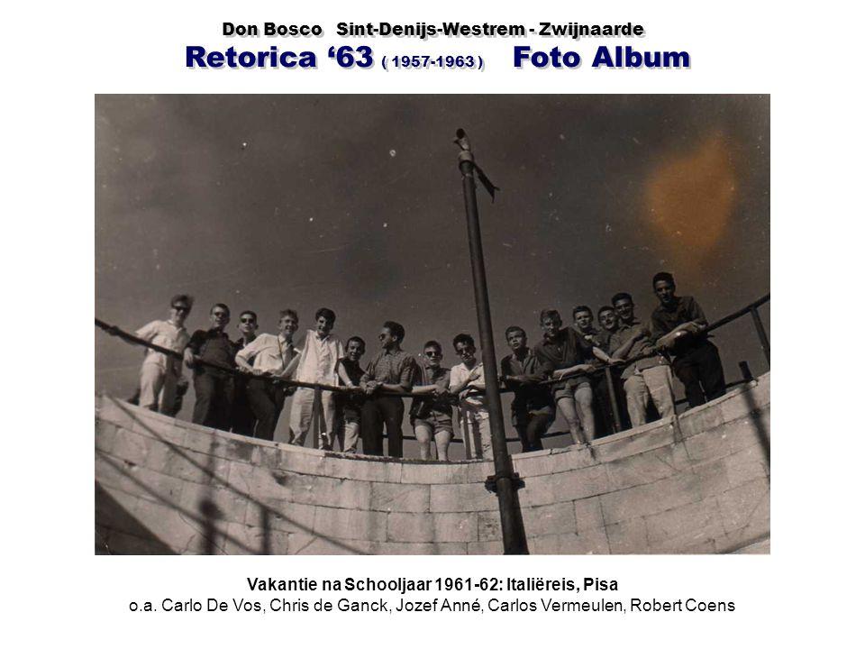 Vakantie na Schooljaar 1961-62: Italiëreis, Pisa