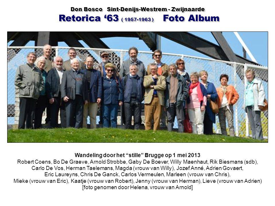 Wandeling door het stille Brugge op 1 mei 2013