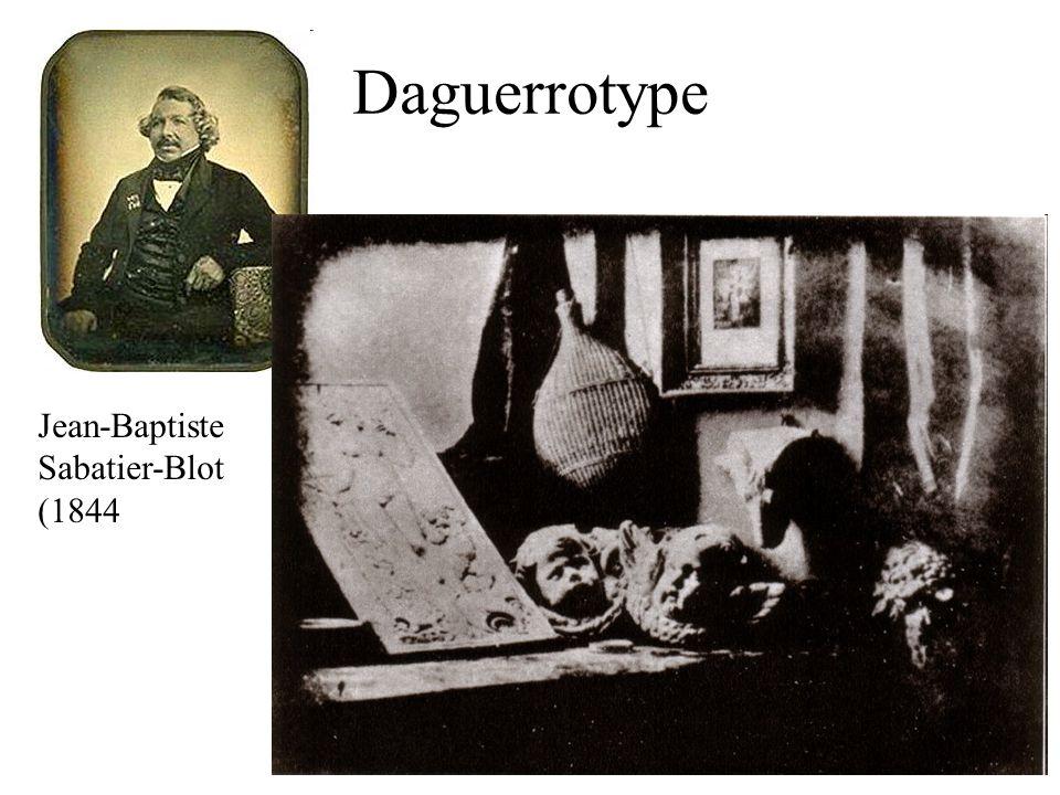 Daguerrotype Jean-Baptiste Sabatier-Blot (1844