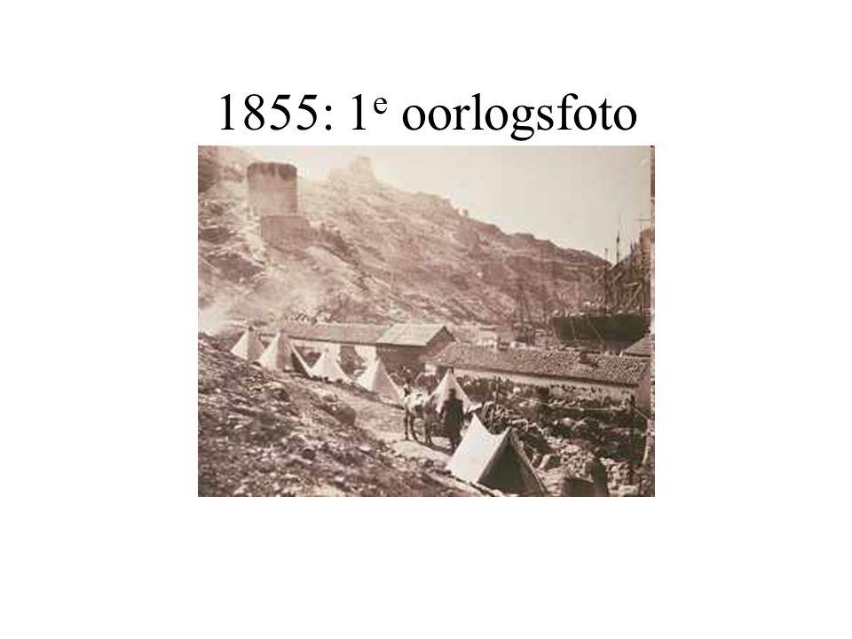 1855: 1e oorlogsfoto