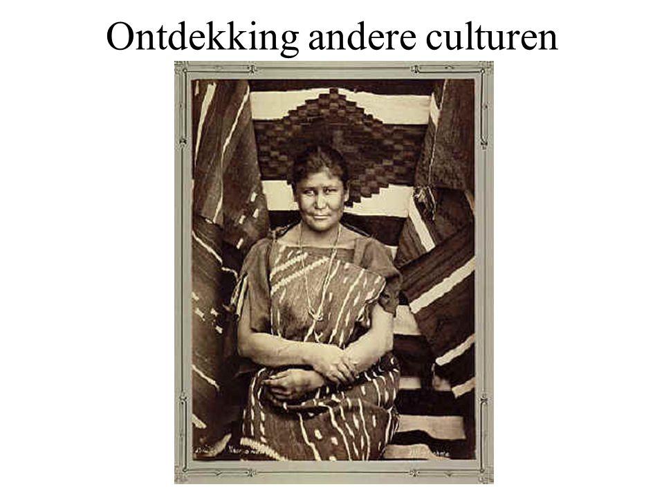 Ontdekking andere culturen