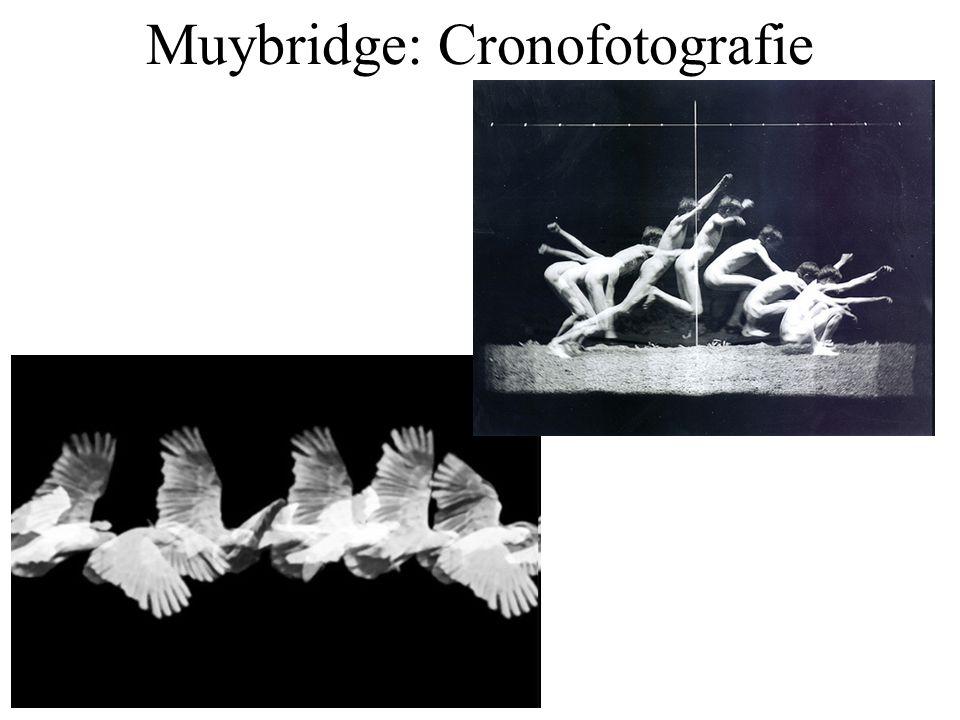 Muybridge: Cronofotografie