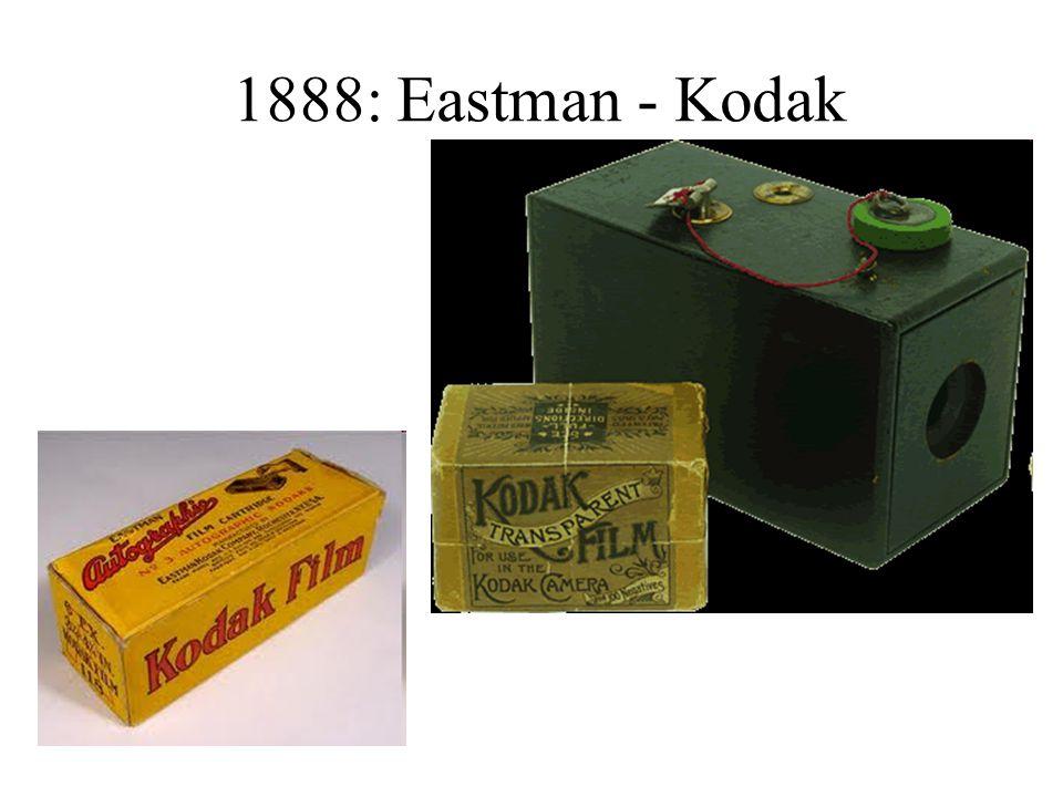 1888: Eastman - Kodak
