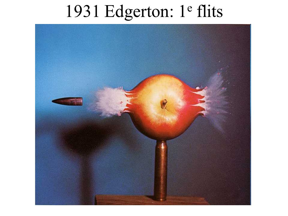 1931 Edgerton: 1e flits