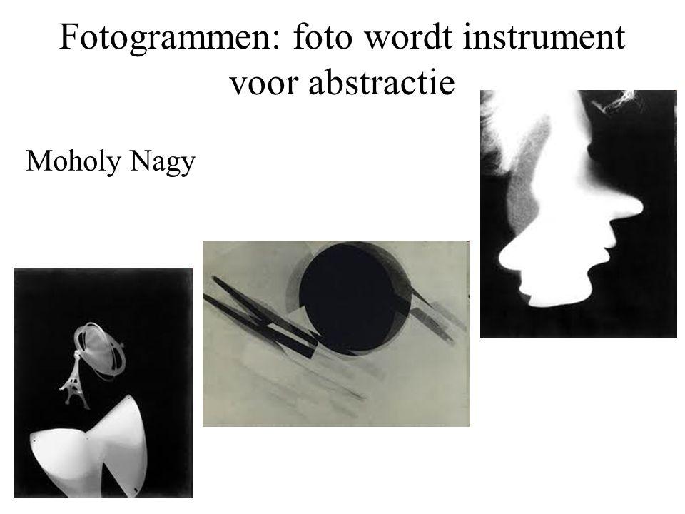 Fotogrammen: foto wordt instrument voor abstractie