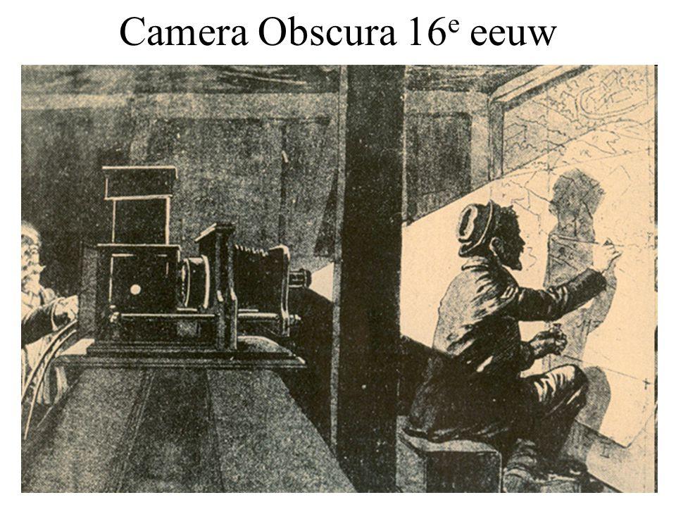 Camera Obscura 16e eeuw