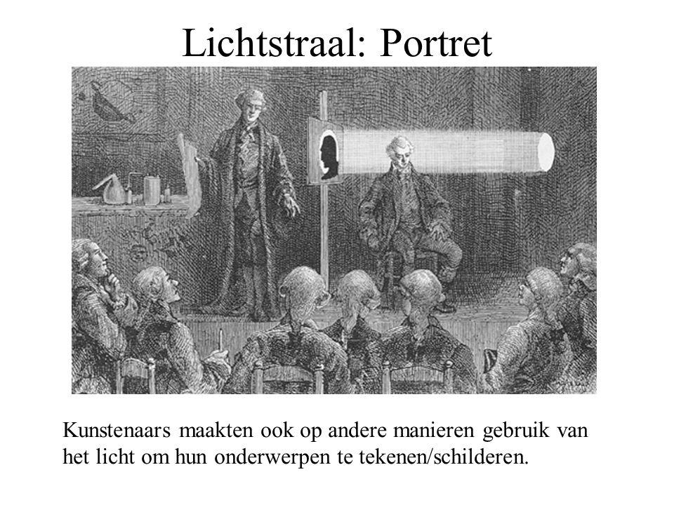 Lichtstraal: Portret Kunstenaars maakten ook op andere manieren gebruik van.