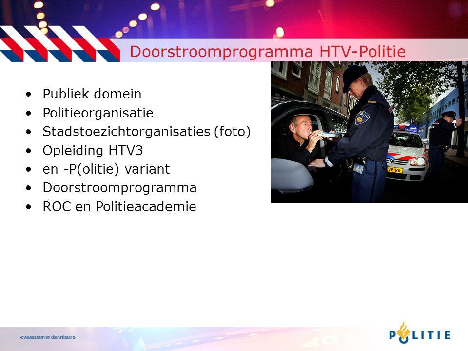 Doorstroomprogramma HTV-Politie