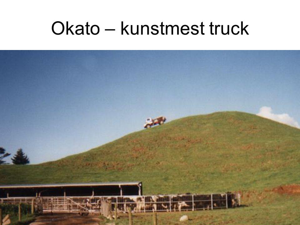 Okato – kunstmest truck