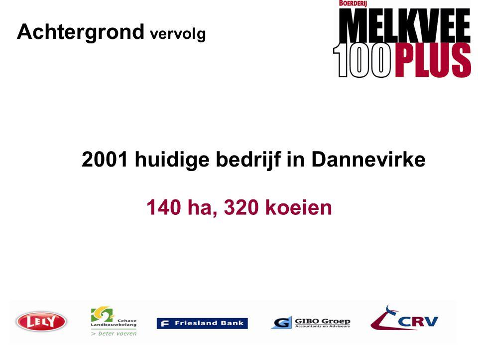 Achtergrond vervolg 2001 huidige bedrijf in Dannevirke