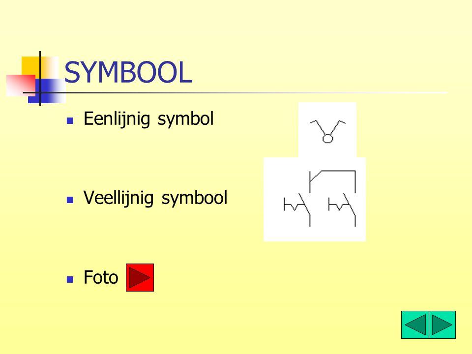 SYMBOOL Eenlijnig symbol Veellijnig symbool Foto