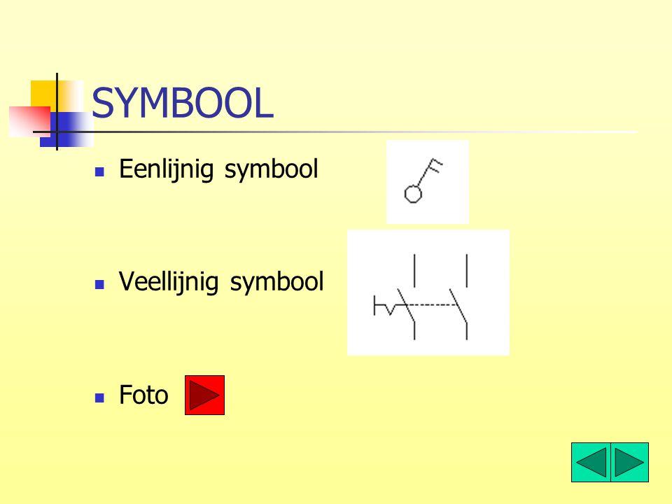 SYMBOOL Eenlijnig symbool Veellijnig symbool Foto