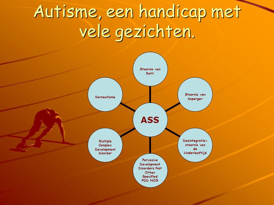 Autisme, een handicap met vele gezichten.