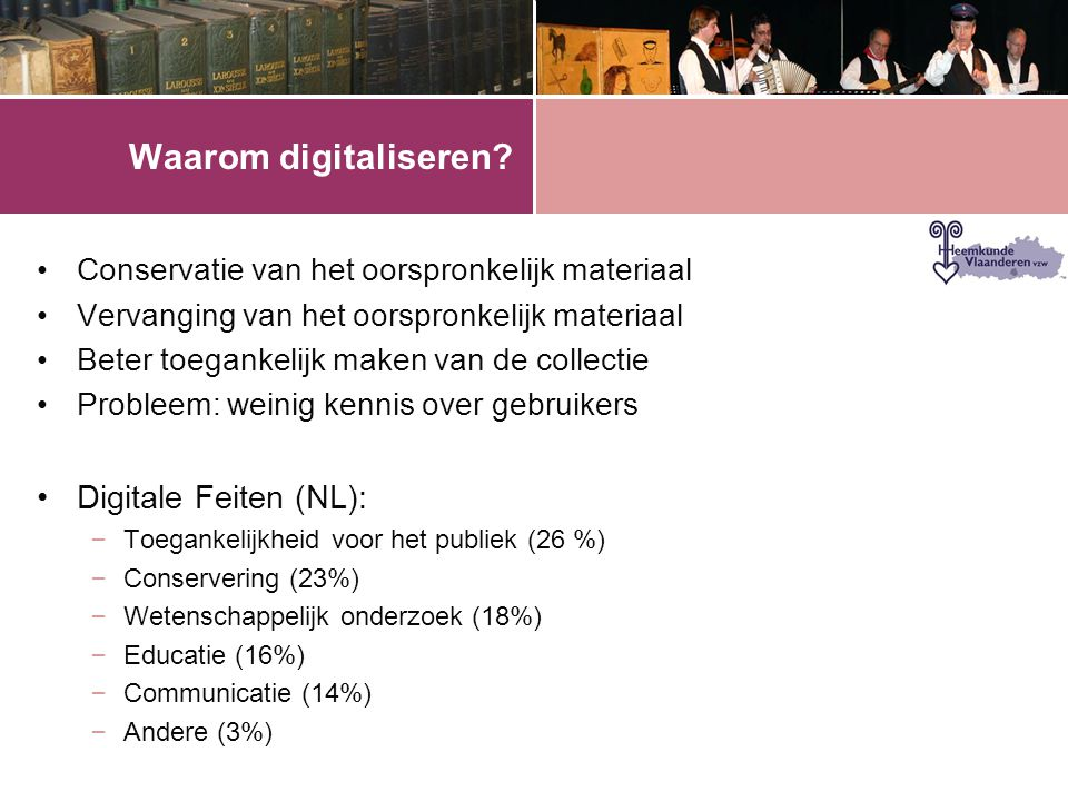 Waarom digitaliseren Digitale Feiten (NL):