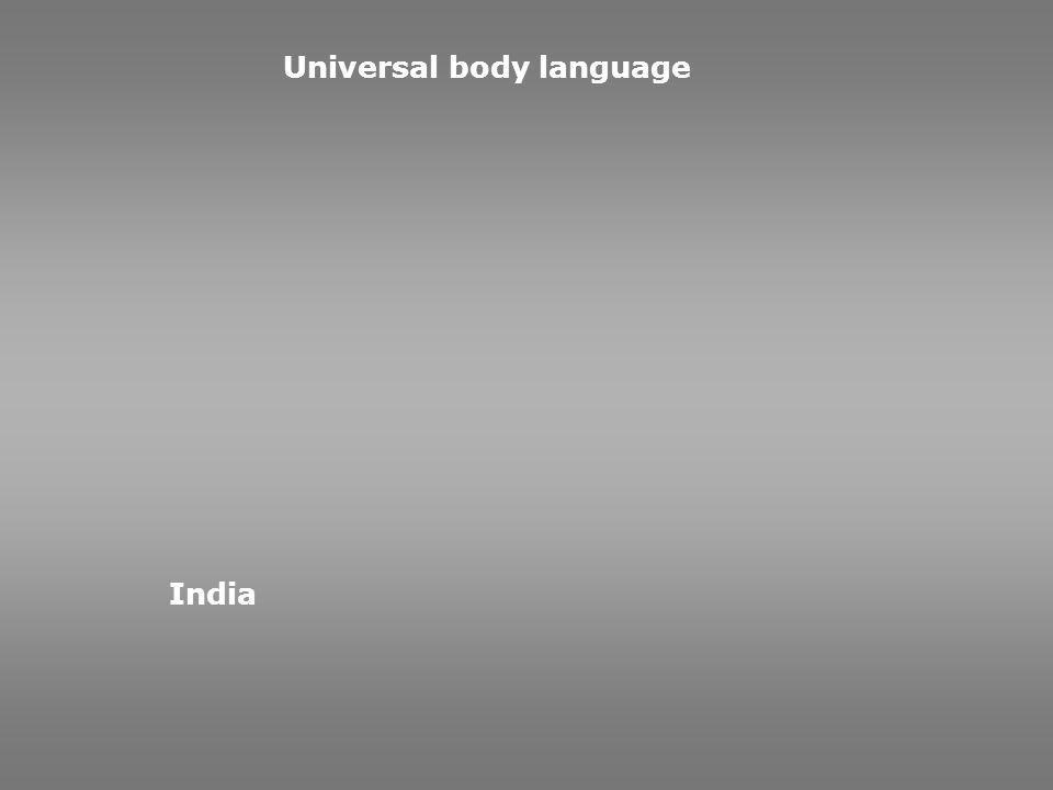 Universal body language